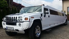 Limousine Service Warsaw | Hummer H2 (White)
