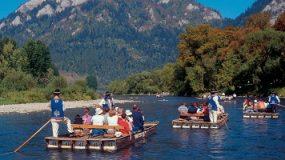 Dunajec River Raft Trip, Krakow