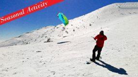 Snowkiting Event, Zakopane